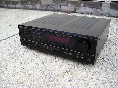 Denon Avr-1601 Surround Sound Home Theater Amp Amplifier Receiver Ipod Iphone In