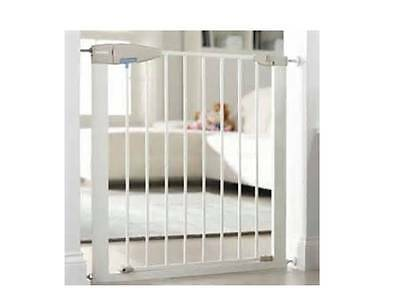 NEW Lindam Pressure Fit Sure Shut Porte Safety Stair Gate no drilling
