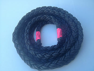 ECONOMY BATTLING ROPE BLACK 38mm x 12m FREE SHIPPING* PERSONAL TRAINING BOOTCAMP