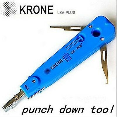 KRONE LSA-Plus Punch Down Tool with Sensor Network Punch