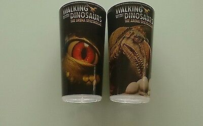"""Walking with Dinosaurs - 2 Stk. Trinkbecher """"The Arena Spectacular"""" ( 1/2 Liter)"""