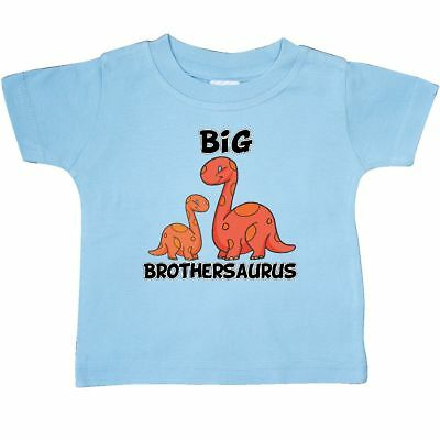 Inktastic Big Brothersaurus Baby T-Shirt Brother Dinosaur Cute T-shirt Infant