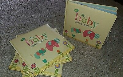 New Baby Record Book - My Baby - Journal/Keepsake - Perfect Gift/ New Baby