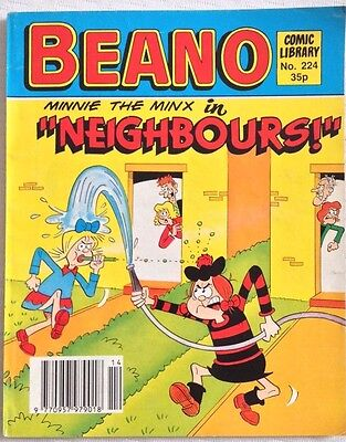 Beano Comic Library 224 Minnie The Minx in Neighbours
