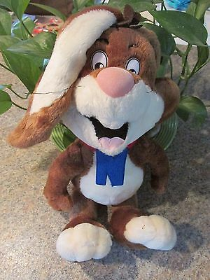 "Quik The Bunny 15"" Plush Toy Nesquik Nestle Nesquick Rabbit Stuffed Animal"