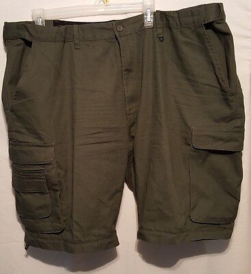 BOY SCOUTS OF AMERICA Mens 42 Uniform Cargo Shorts BSA Army Green Relaxed Fit