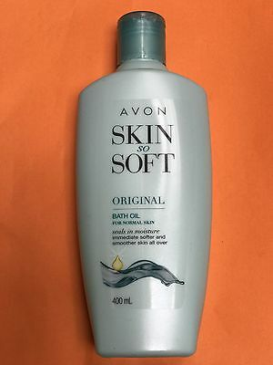 AVON Skin So Soft Original Bath Oil 400ml New & Sealed  Combined Postage Welcome