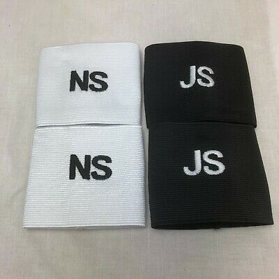 Personalised shin pad holders /shin supports/football soccer stays 3