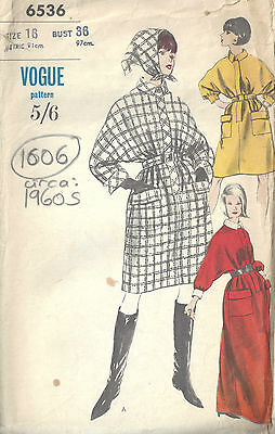 f4c52a662f 1960S VINTAGE VOGUE Sewing Pattern B36