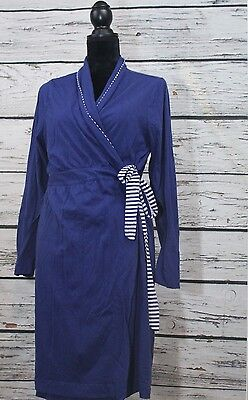 Oh Baby by Motherhood Navy Blue Robe Womens XL