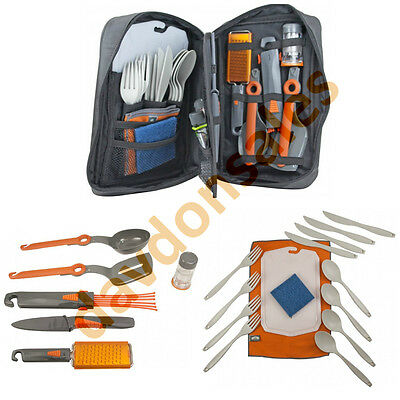 Camping Gear Outdoor Kitchen Set Destination Recreation Picnic Utensils Coleman