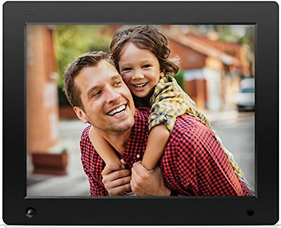 NIX Advance - 12 inch Digital Photo & HD Video (720p) Frame with Motion Sensor &