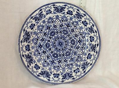 Blue & White Plate Made By T.C.& F.B.