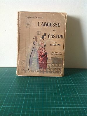 Vintage Illustrated Book By Stendhal C1940's