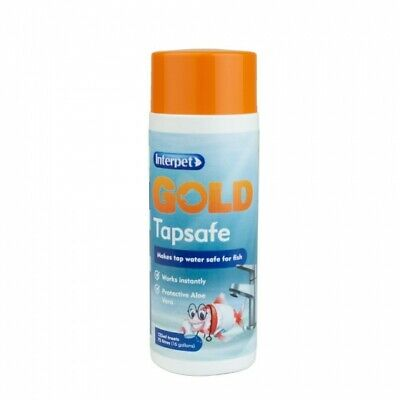 Interpet Gold Tap Safe Treatment Water Conditioner Dechlorinator 100ml Aquarium