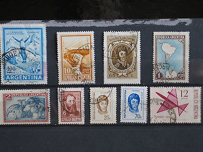 timbres d' Argentine (7)
