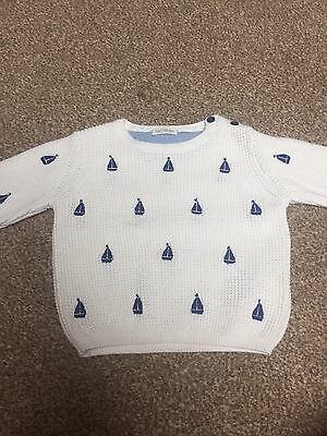 Boys Jumper Age 6-9 Months From Next