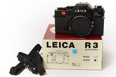 Leica R3 R 3 Electronic Solo Body black boxed In excellent conditions