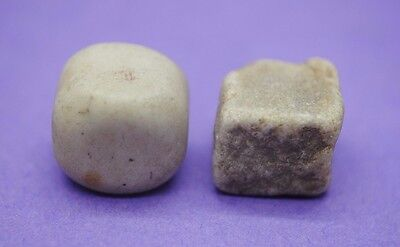 Group of two British gaming pieces 17th-18th century AD Thames Found