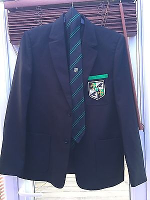 Ravens Wood School Blazer & Tie, New, Boys, Bromley, Age 15 Year 10-11