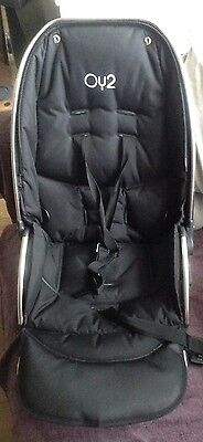 Babystyle Oyster 2 Or Max main Upper seat unit With Seat Pad