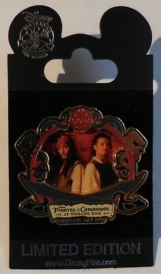 Disney WOD NYC Pirates of the Caribbean At World's End Pirate Pin-Trading Day LE