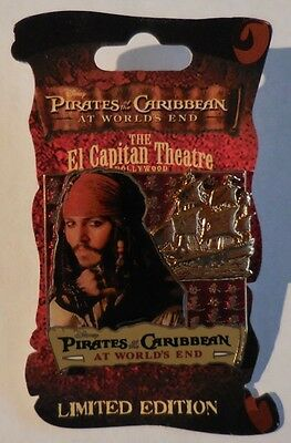 Disney pin DSF Pirates of the Caribbean Jack Sparrow Surprise Release Pin LE300
