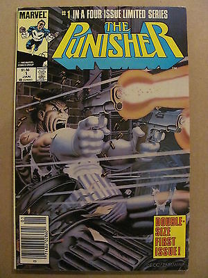 Punisher #1 #2 #3 #4 #5 Full 1st 1986 Limited Series Marvel Comics Mike Zeck