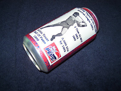 Wild Cherry Pepsi Cola Soda Can~Robin Yount~Hall Of Fame 1999~Wis-Pak~Pepsico