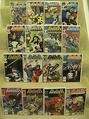 Punisher #1 to #84 plus Annuals #1 to #4 Marvel Comics 1987 Series Full Run