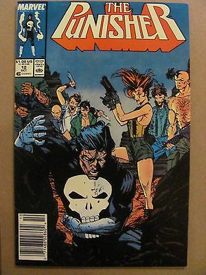 Punisher #12 Marvel Comics 1987 Series Newsstand Edition