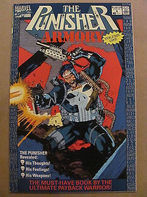 Punisher Armory #1 #2 #3 #4 Marvel Comics 1990 Series 9.4 Near Mint