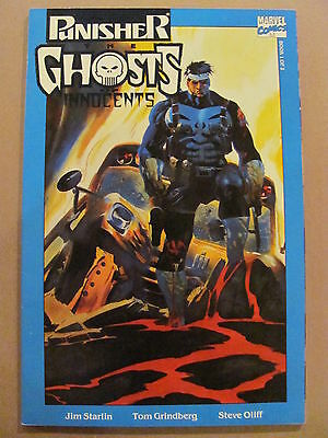 Punisher Ghosts of the Innocents #1 #2 Marvel 1993 Series Jim Starlin 9.2 NM-