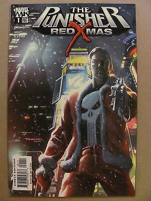 Punisher Red X-Mas #1 Marvel Knights 2005 One Shot 9.6 Near Mint+