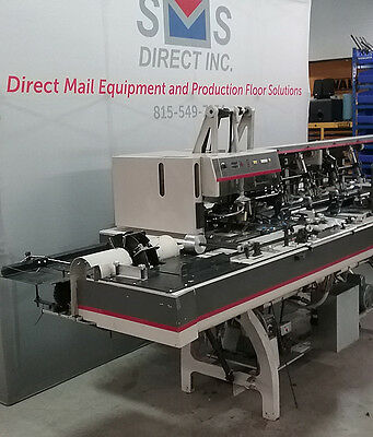 Bell+Howell 4 station 9x12 Mail Inserter with turnover and conveyor