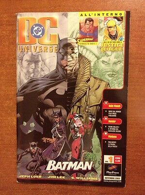 [V] DC UNIVERSE n. 1 nov 2003  play press Jim Lee S. Williams Jephloeb OTTIMO