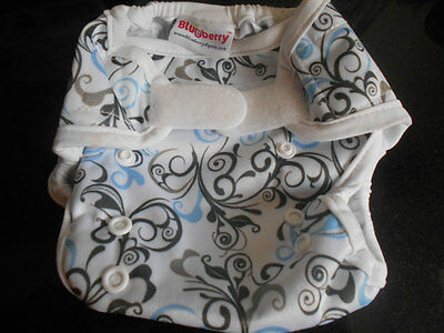 Blueberry mini coveral nappy wrap NEW