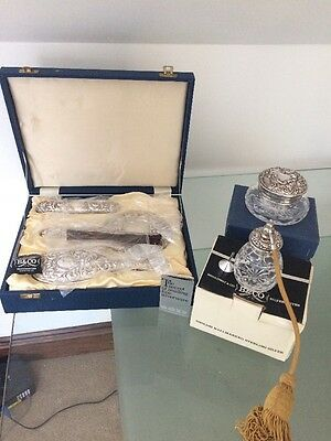 Broadway Hallmarked Silver Ladies Grooming Set