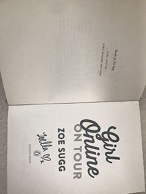 *Signed * Girl Online On Tour by Zoë Sugg Book