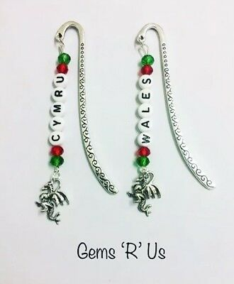 Wales Welsh Dragon Bookmark