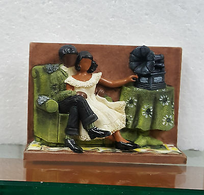 Lot of 3 Annie Lee Figurines Magnet Love Song African American Liquidation Sale!