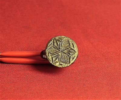 Medieval Star Seal Ring - 14. Century