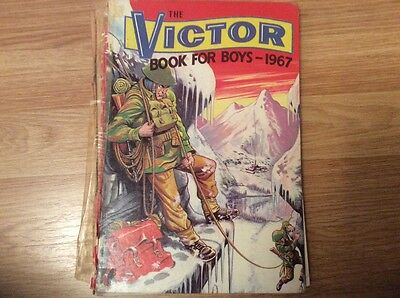 the victor book for boys 1967