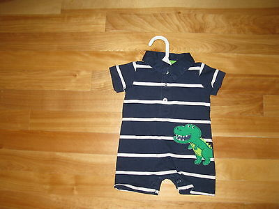 Infant Baby Boys One-Piece Bodysuit Romper size 3 month