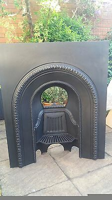 Antique Victorian Cast Iron Arts and Crafts Fender