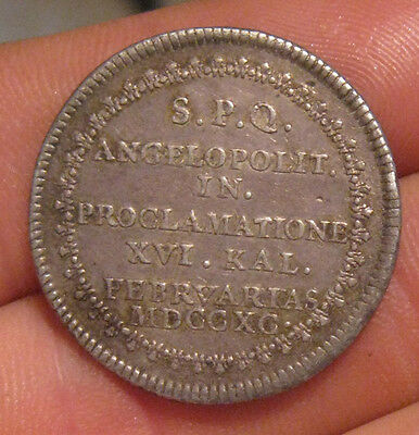 Mexico - 1790 Silver (2 Reales) Proclamation