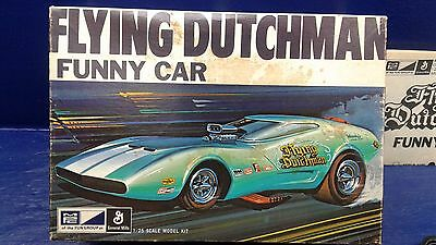 """Flying Dutchman"" 1968 ""Charger III"" NITRO Funny Car Mpc Model kit"
