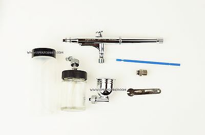 Airbrush Sparmax DH125 0.5mm nozzle side feed double action airbrush set