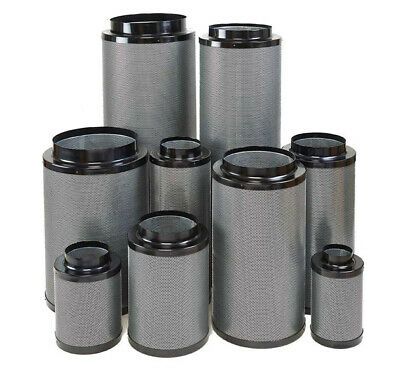 HYDROPONICS FOX RC412 CARBON FILTER 100mm 125mm 150mm 200mm 250mm 315mm No Smell