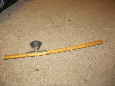 old antique vintage wood carved chinese china tobacco smoking pipe ming dynasty